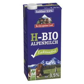 Alpenmilch laktosefrei haltbar 3,5%, 1 Stk