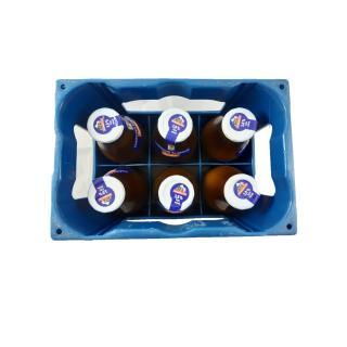 Alpenmilch Glas 3,8% Demeter Kasten