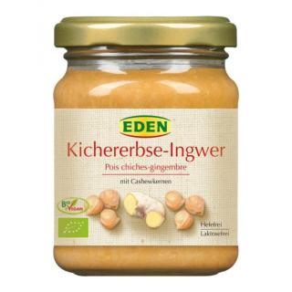 Brotaufstrich Kichererbse Ingwer Cashew