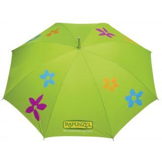 Regenschirm Grün mit Hülle