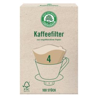 Kaffeefilter Papier Gr 4 (100 Stk.)