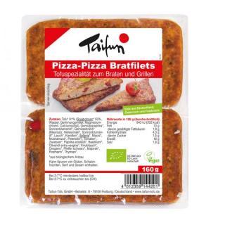 Tofu Bratfilet Pizza-Pizza