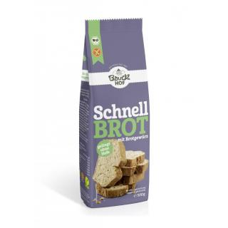 Brot Schnellbrot gewürzt Glutenfrei