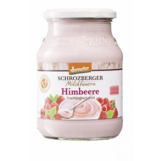 Jogurt Himbeere im Glas DEMETER