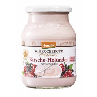 Jogurt Kirsche Holunder DEMETE