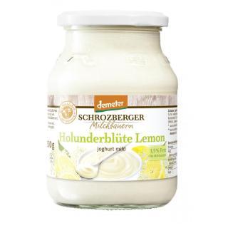 Jogurt Holunderblüte Lemon im Glas