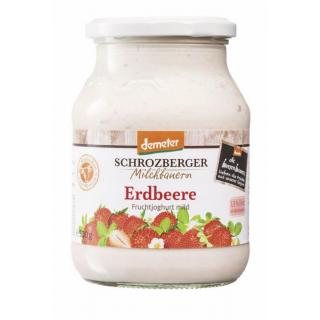 Jogurt Erdbeere im Glas DEMETER