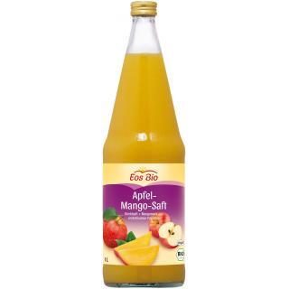 Apfel-Mango-Saft   1 ltr.Flasche