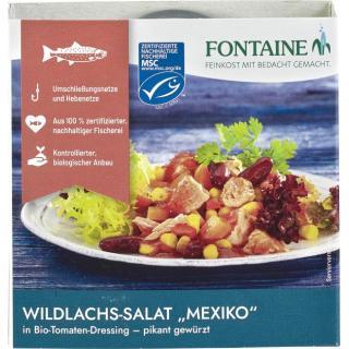 Wildlachs-Salat Mexiko