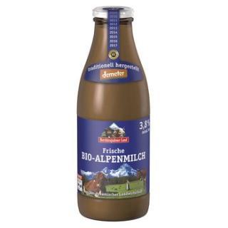 Alpenmilch Glas 3,8% demeter * NEU*
