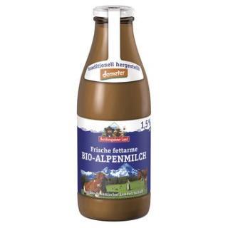 Alpenmilch Glas 1.5% demeter * NEU*