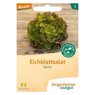 Saatgut Salat Eichblatt Bijella